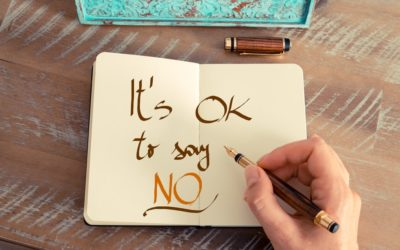 Say No. Go For It – The Importance of Saying No